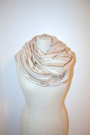 H&M Scarf multicolored cotton