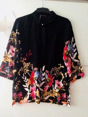 Sommer Hemd Blüten Blumen stradivarius