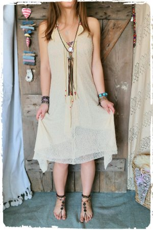 Sommer Hippie Festival Kleid Kalissi Ibiza