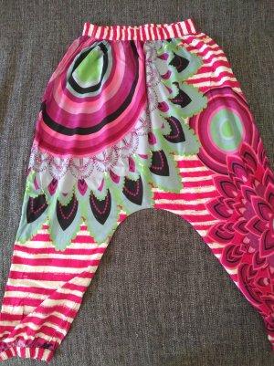 Desigual Pantalón estilo Harem multicolor