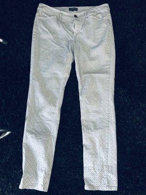 Sommer Hose Blau-weiß von Manguun Gr. 40