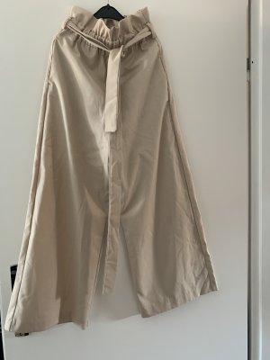 Zara Basic Culottes beige-cream