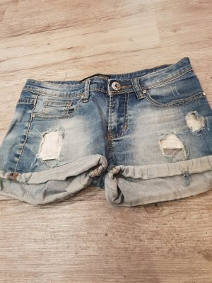 Hot pants blauw