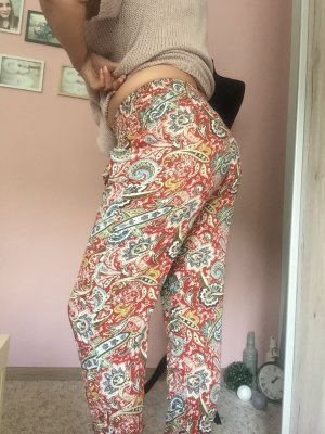 Pleated Trousers multicolored