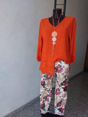 Made in Italy Pantalon strech multicolore