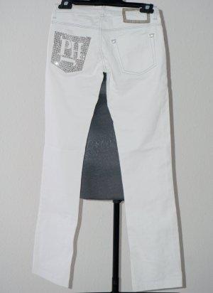 Sommer Hose Weiß XS - S