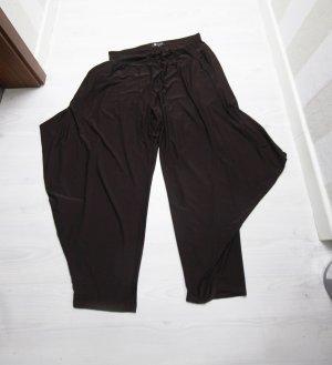 Pantalón estilo Harem marrón oscuro