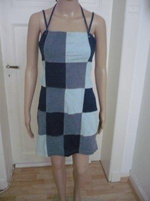 Robe en jean multicolore coton