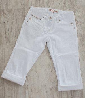 Spijkershort wit