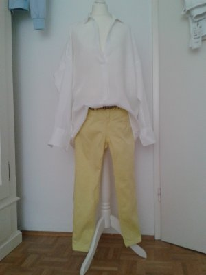 Xside Jeans a 7/8 giallo lime