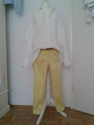 Xside 7/8-jeans limoen geel