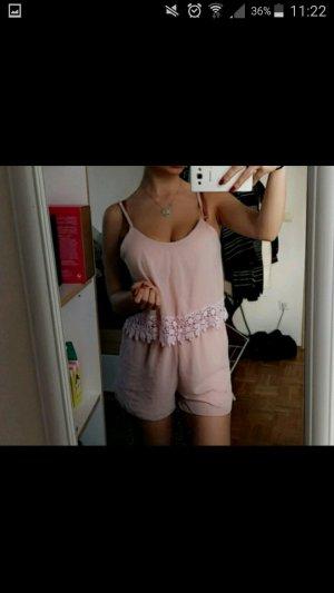 Sommer Jumpsuit in rosa