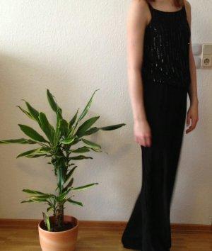 Vero Moda Robe de soirée noir-argenté