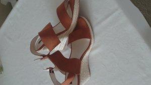 Orsay Platform High-Heeled Sandal brown