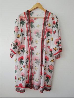 H&M Chemisier kimono multicolore