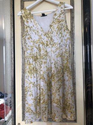H&M Sweat Dress gold orange