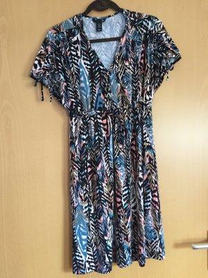 H&M Vestido estilo camisa multicolor Viscosa