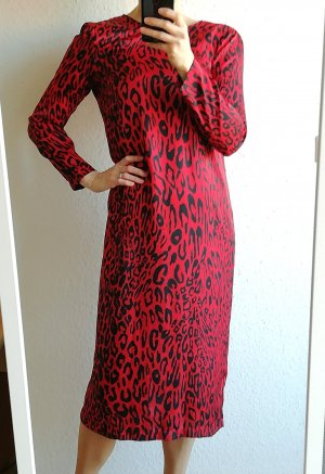 Sommer Kleid Animalprint, Seideoptik, Kollektion 18/19