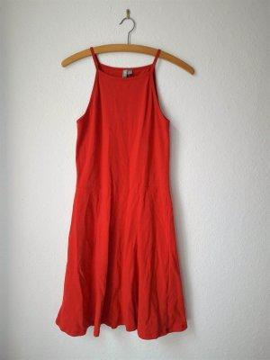 Sommer-Kleid ASOS rot 38 Jersey-Kleid Trägerkleid Neu ungetragen