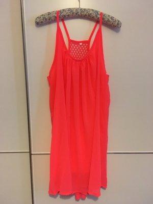 Chiffon Dress bright red