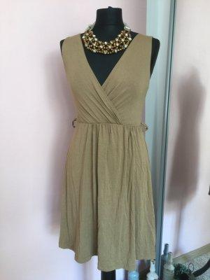 Sommer Kleid beige Gr.36-38