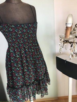 Sommer Kleid Geblümt mit VolantGr 40 M Ann Christine