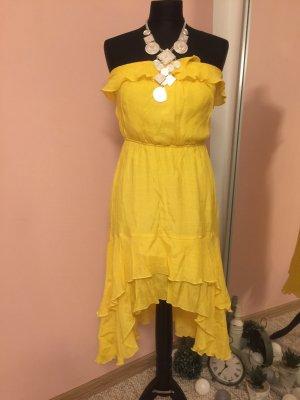 Sommer Kleid gelb sexy Gr 36-38