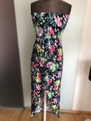 Sommer Kleid Gr 36 38 S Blumen Muster