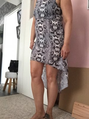 Sommer Kleid Leo grau Gr 36