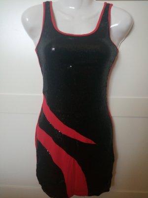 Sommer Kleid mit Pailletten Gr. S 34 NEU