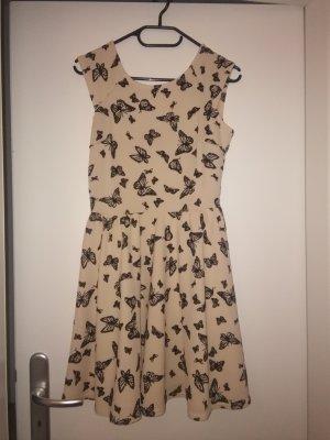 sommer Kleid mit Schmetterlingen