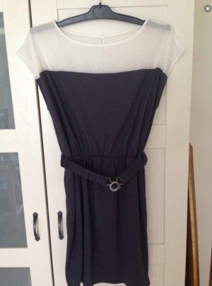 Sommer Kleid Vero Moda blau weiß Gr. S