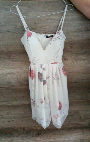 Sommer Kleid weiß Blumen*NEU*