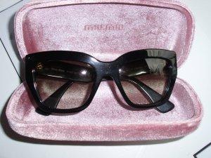 Miu Miu Occhiale nero Materiale sintetico