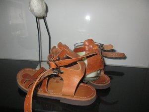 Sommer Leder Sandalen Größe 37