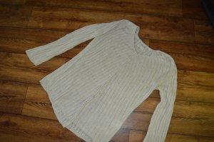Sommer Long-Pullover Gr. L von Bona Parte in creme