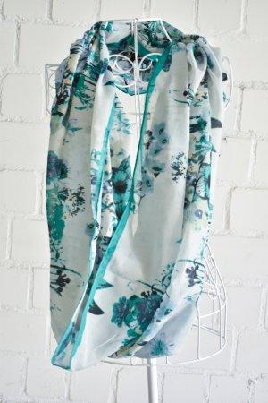 Sommer Loop Schal in Grüntönen