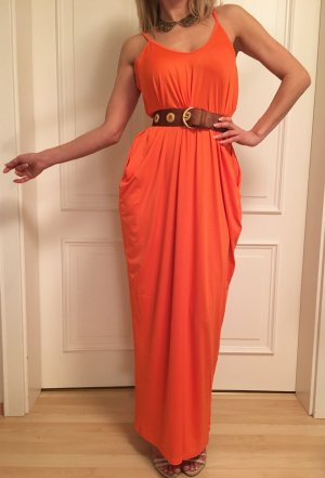Sommer Maxi Dress in orange, multi variabel, one size
