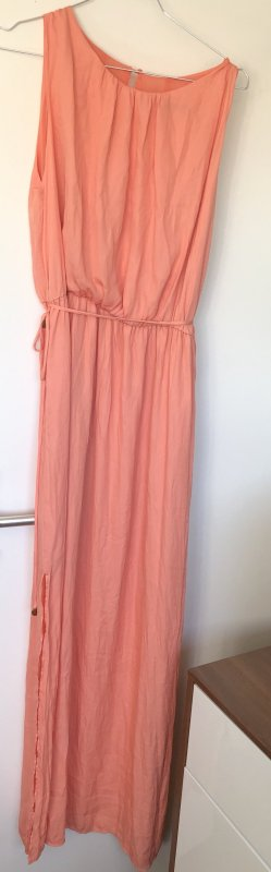 Zara Maxi Dress apricot-salmon