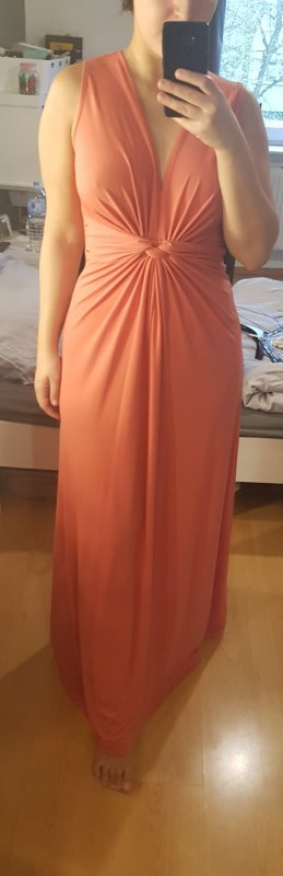Anna Field Maxi-jurk abrikoos