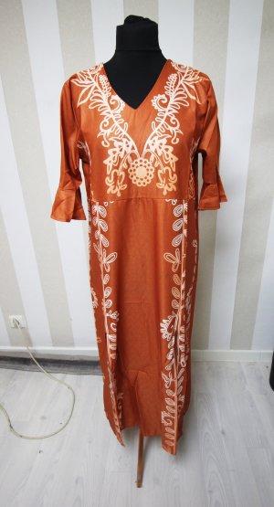Maxi Dress dark orange