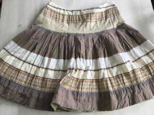 Bandolera Pleated Skirt multicolored