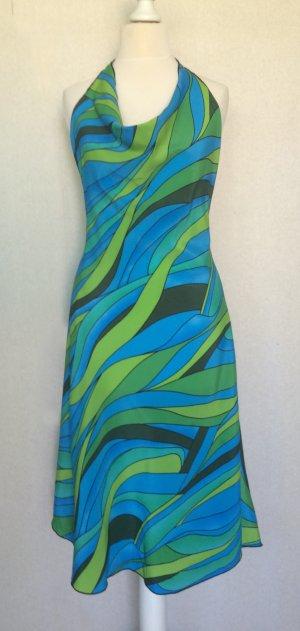 Halter Dress multicolored viscose
