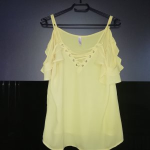 Amisu Blouse Top yellow