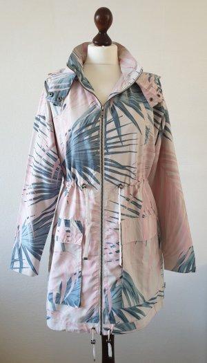 Only Parka rosé-bleu pétrole polyester