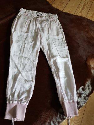 Express Pantalón de lino rosa