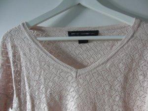 French Connection Maglione a maniche corte rosa pallido