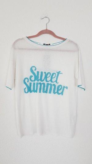 Sommer pullover kurzarm shirt
