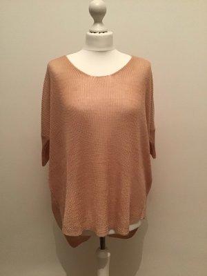 Sommer Pullover locker gestrickt rosa LTB Gr.S