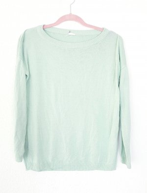 sommer Pullover sweater mint türkis locker